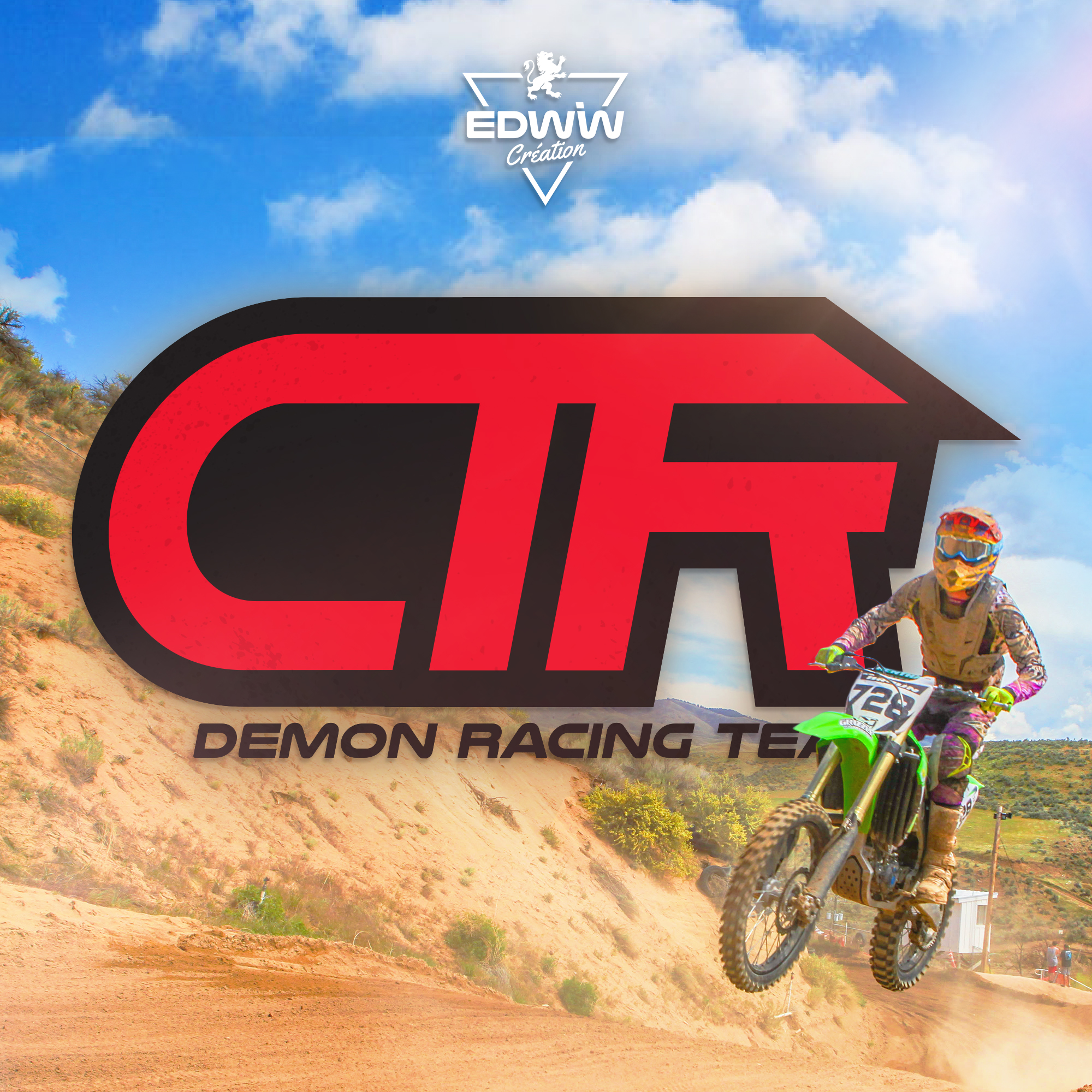 Logo Demon Racing Team